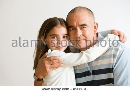 Nonno e nipote Foto Stock