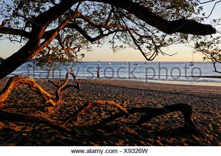 Spiaggia di Playa Hermosa, Nicoya peninsula, Costa Rica, America Centrale Foto Stock