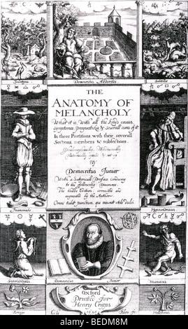 A Anatomia da Melancolia Foto, Imagem de Stock: 135045488 - Alamy
