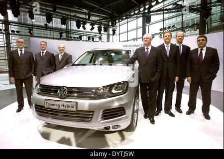 O Conselho de Administração da Volkswagen AG Foto de Stock