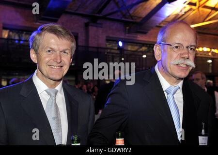 Weber e Zetsche Foto de Stock