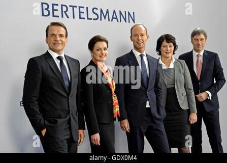O Conselho de Administração da Bertelsmann AG Foto de Stock