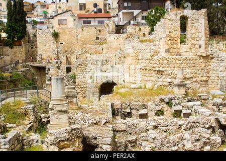 antiga jerusalém no período do novo testamento foto imagem de stock